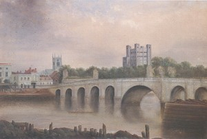 Painting by 19th-century Rochester artist John Hopper.