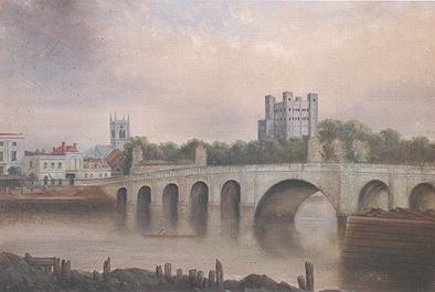 Painting by 19th-century Rochester artist John Hopper.