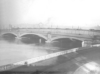 The Victorian Bridge and Rochester Esplanade Before Reconstruction