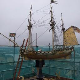 weathervane-before