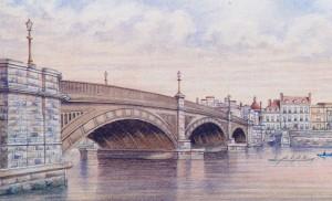 Victorian Cast Iron Bridge Built by Sir William Cubitt