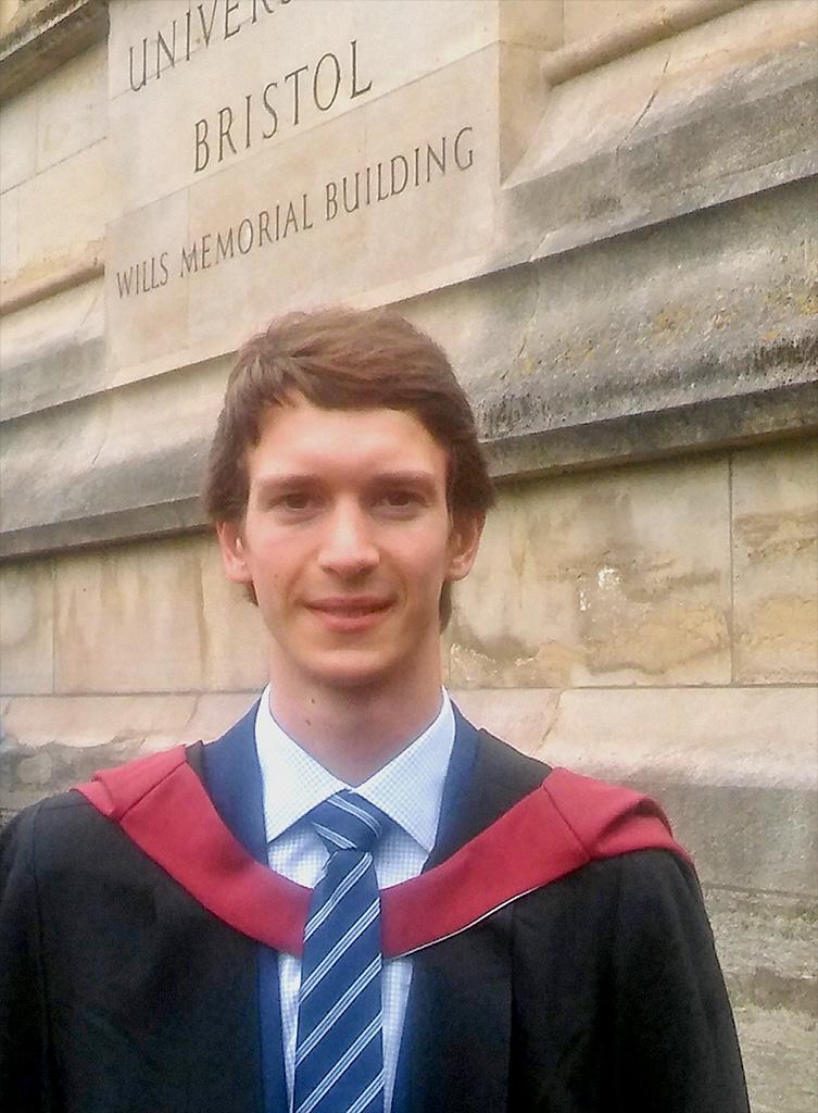 Joshua Mudie graduation