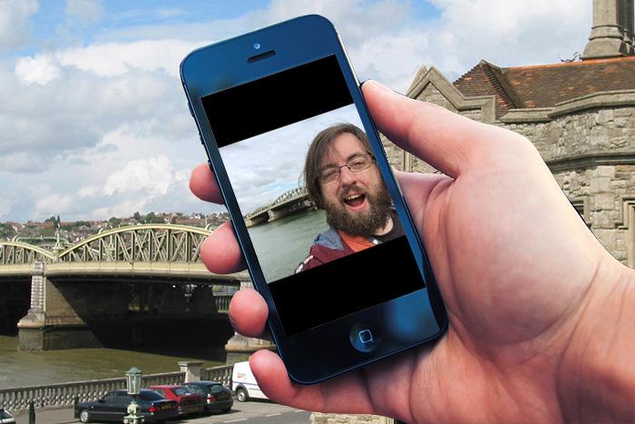 selfie bridge