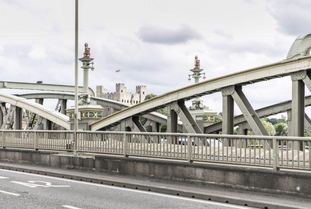 view on bridge