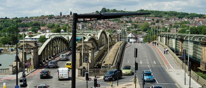 Rochester Bridges from the Guildhall 14th May 2014 ft