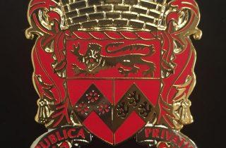 Senior Warden lapel badge