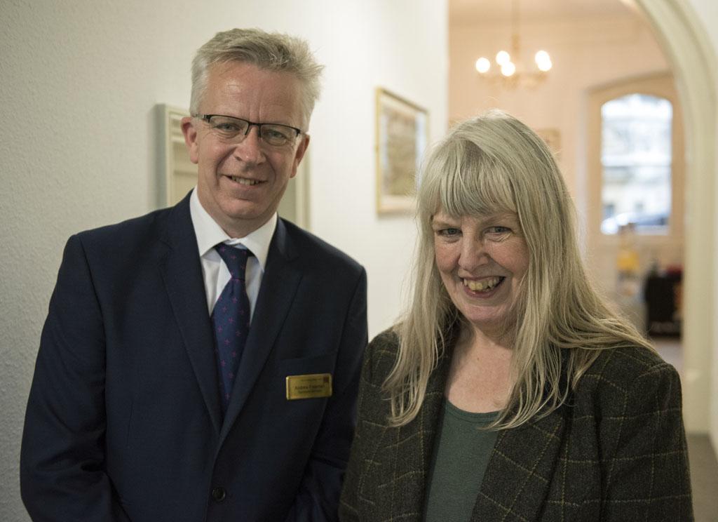 Andrew Freeman and Christine Furminger