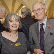 Assistant Warden Dr Anne Logan and Michael Bailey