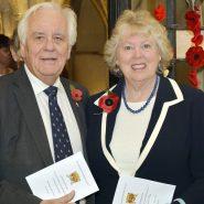 Assistant Warden Peter Homewood and Susan Haydock