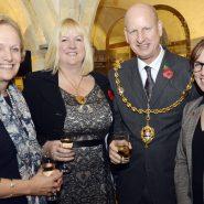 Barbara Lloyd Angela Vincent Mayor of Maidstone David Naghi and Caroline Chisholm