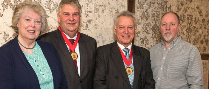 Sue Haydock Phil Filmer Russell Cooper and Tom Organ