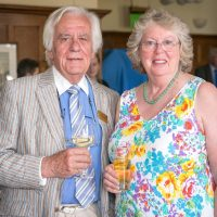 Assistant Warden Peter Homewood and Susan Haydock-min
