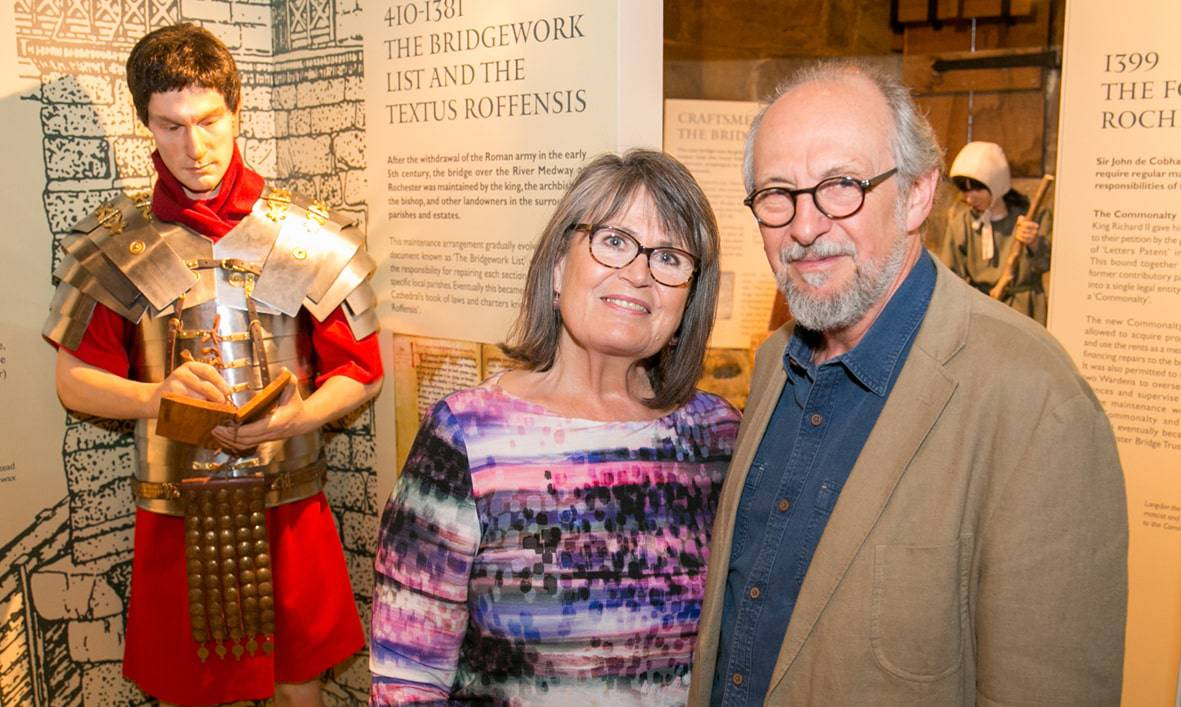 Exhibition designers Kathy and Garry Hall min 1