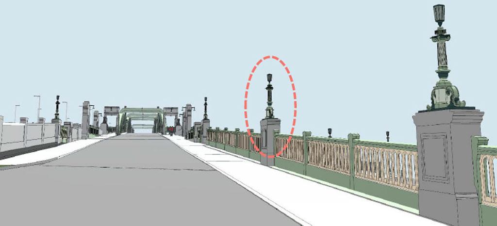lamp columns 3D