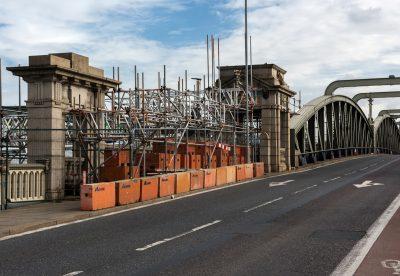 CCS Old Bridge scaffold