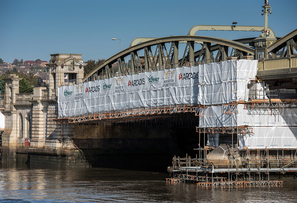 Rochester bridge refurbishment lecture