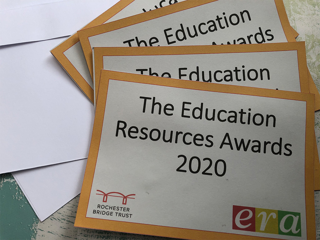 Education Resource Awards winners cards