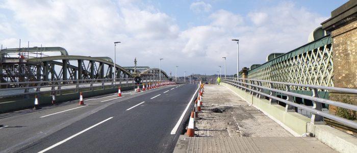 view of open bridge