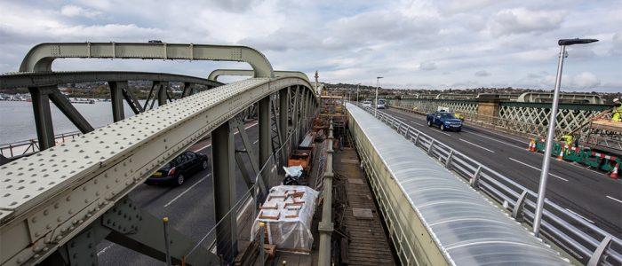RBT Rochester Bridge renovation works 28.10.19 149 edited